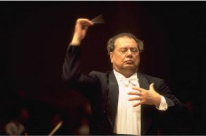 Rafael Fruhbeck de Burgos scheduled to conduct at Tanglewood August 2012.