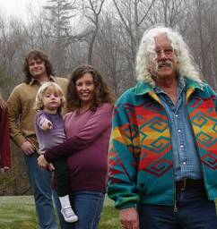 Arlo Guthrie and family played Pittsfield's Colonial THeatre, Nov. 19, 2011.