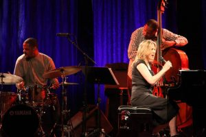 Diana Krall performing at Tanglewood, June 23, 2012
