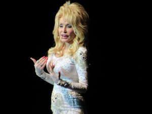 Dolly Parton at Tanglewood June 17, 2016 Pure & Simple tour.Photo; Dave Read, Berkshire Links