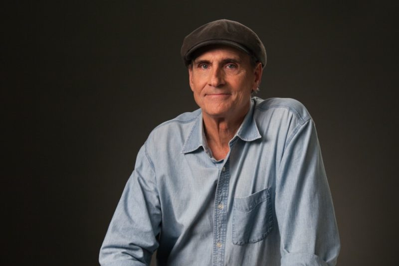 James Taylor scheduled to perform at Tanglewood July 3 & 4,, 2018.