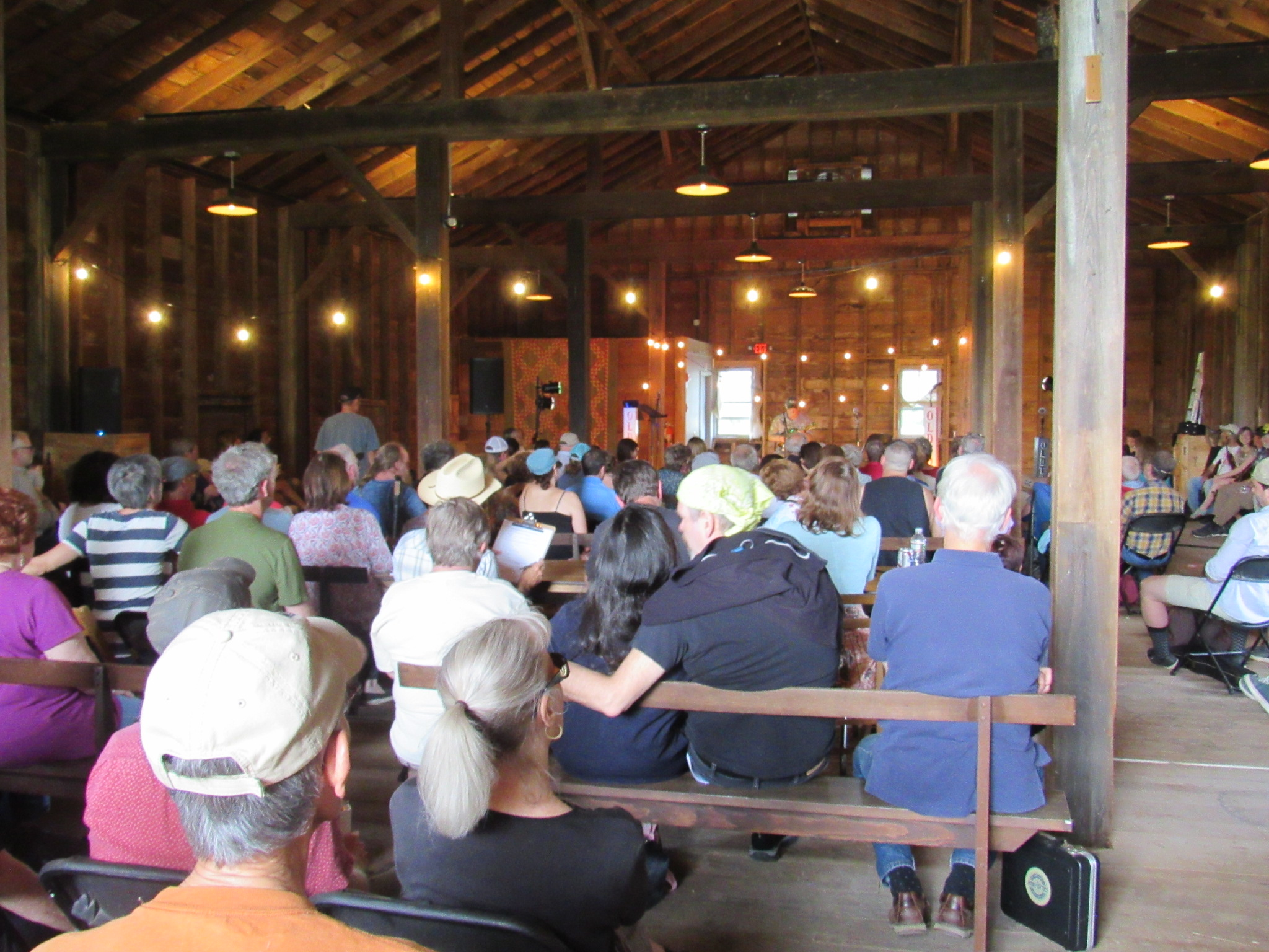 Northeast Fiddlers' Convention at Hancock Shaker Village, June 9, 2018; Dave Read photo.