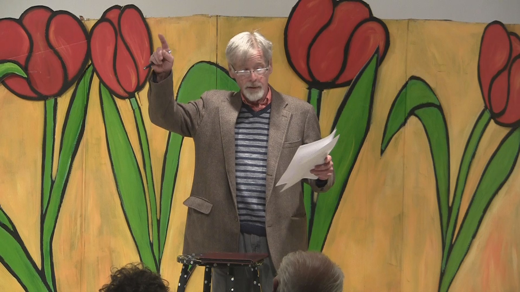Dave Read performs his poems June 4, 2019; CTSB-TV video.