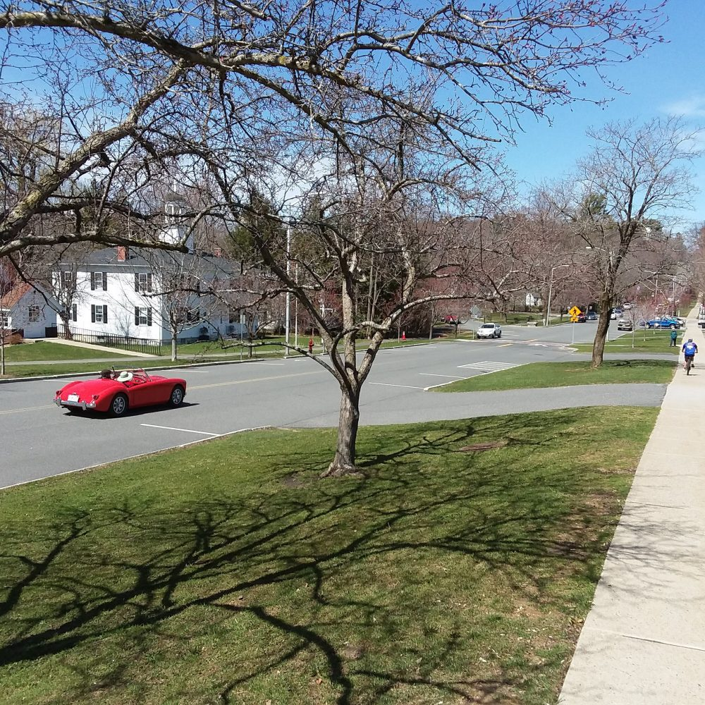 Spring creeps into Lenox in the Berkshires during the pandemic.